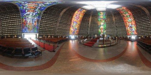 La Cathédrale de São Sebastião de Rio de Janeiro