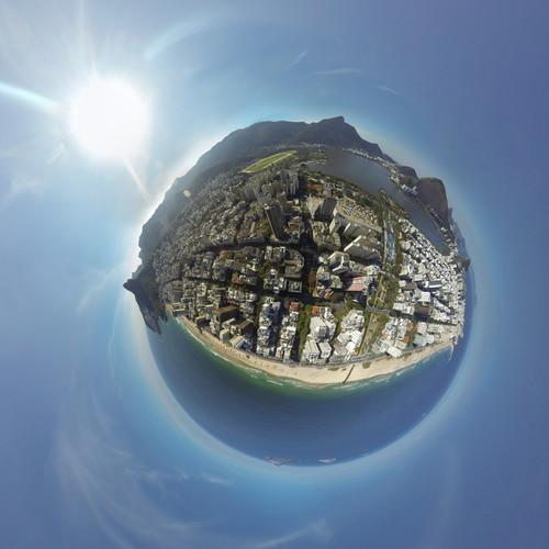 Vista aérea do Leblon, Ipanema, Lagoa
