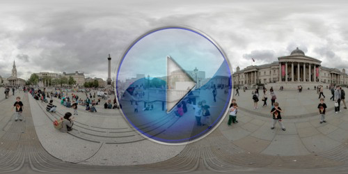 Trafalgar Square e National Gallery 360º