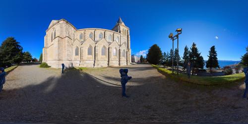 Panorâmicas na Catedral de Bariloche