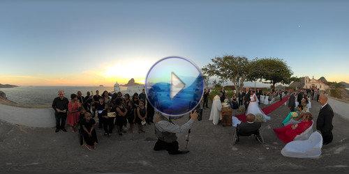 Casamento Felipe e Alexsandra em 360°