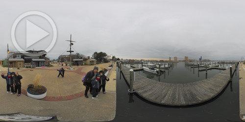 Pier em Atlantic City em 360°