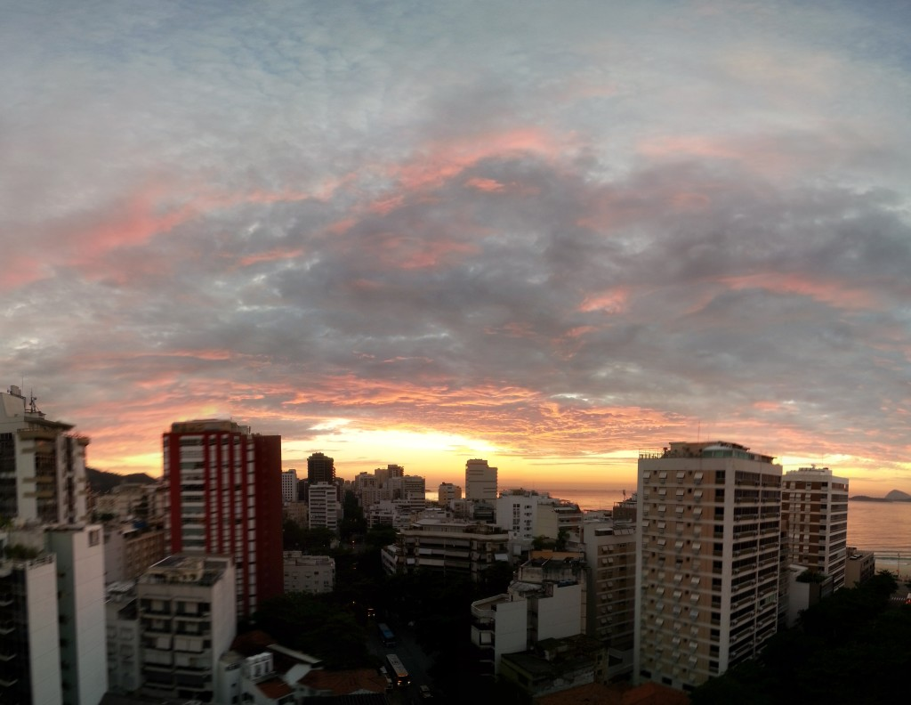 Foto com Photo Sphere parcial - FOV aumentado