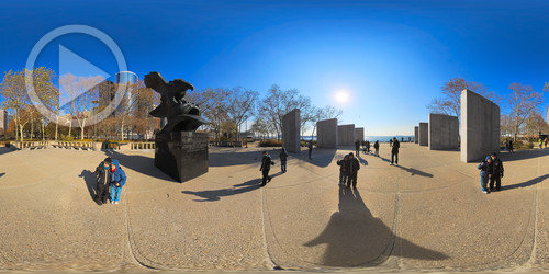 East Coast Memorial em 360°