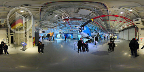 Sea, Air & Space Museum em 360°