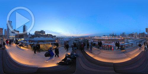 Tour Virtual 360° no High Line - NY