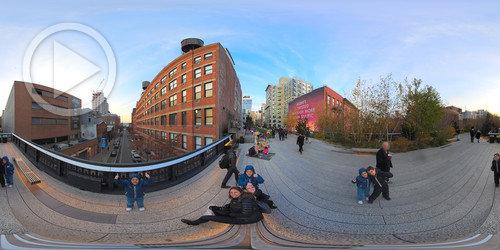 The High Line em 360°
