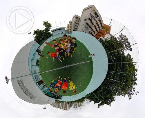 Futebol na AABB em 360°