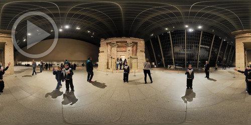 Visita 360° na área egípcia do Metmuseum de NY