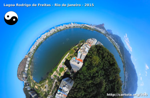 Lagoa Rodrigo de Freitas Little Planet