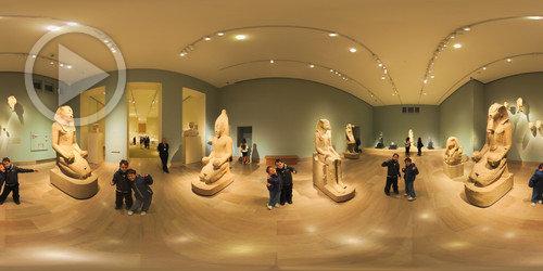 Sala 115 - Arte Egípcia - Metmuseum 360°
