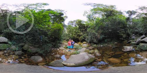 Riacho no PARNASO em 360°