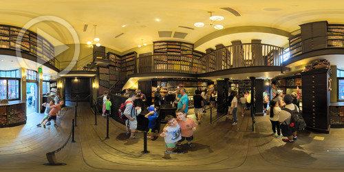 Loja de Varinhas do Harry Potter em 360°