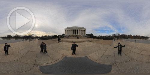 Tour Virtual no Lincoln e Korean War Memorials