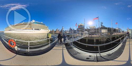 Foto Imersiva Sobre o Submarino
