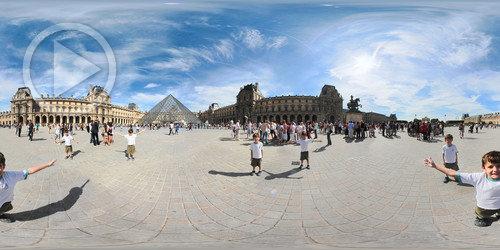 Louvre em 360°