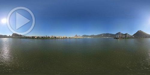 Lagoa Rodrigo de Freitas em 360°