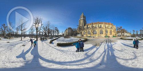 Preça na Catedral de Berna em 360°
