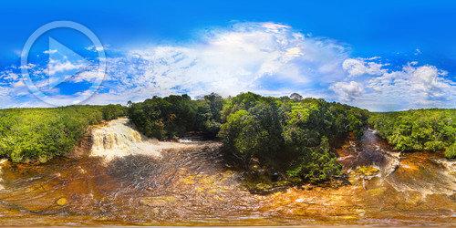 Cachoeira de Iracema em 360°