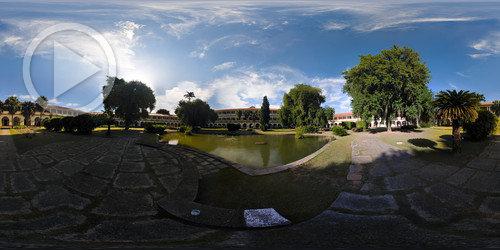 Jardim Interno do P1 da UFRRJ em 360°