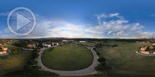 Foto 360° aérea na UFRRJ em 2018