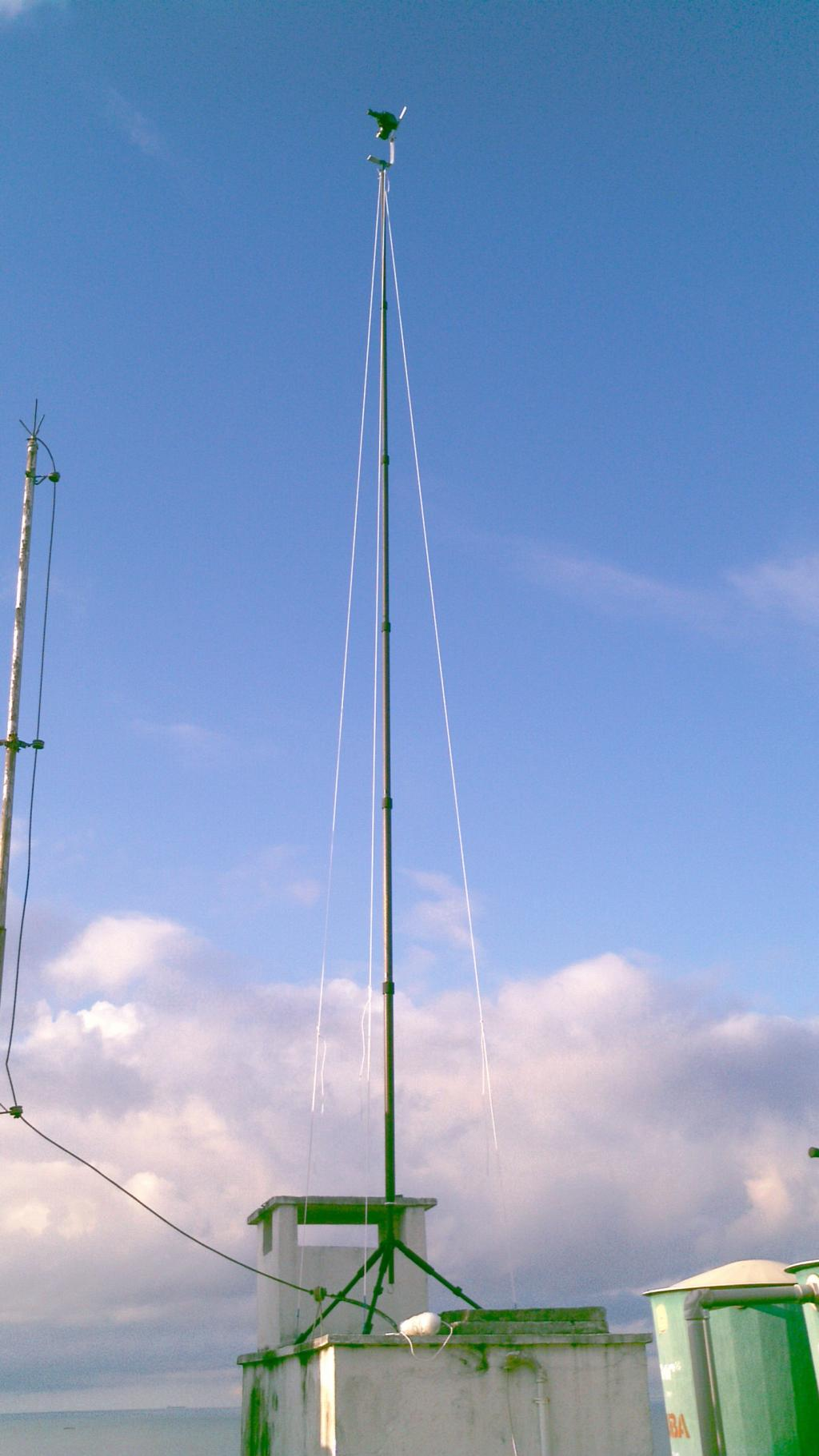 Pole in action